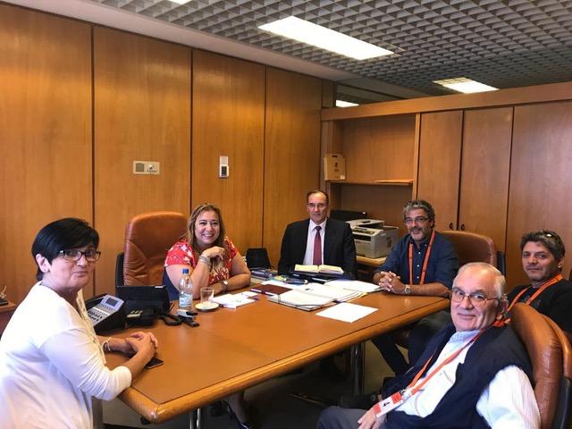 Ministra manifestó voluntad de diálogo con COVIPRO