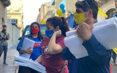 Una intensa campaña que reunió miles de firmas