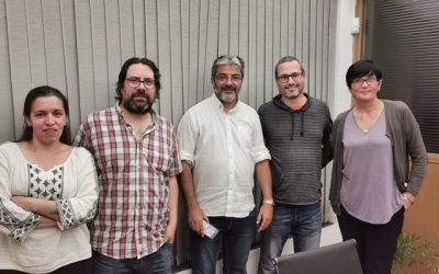 Reunión en nuestra sede con nuevos directores de la IMM